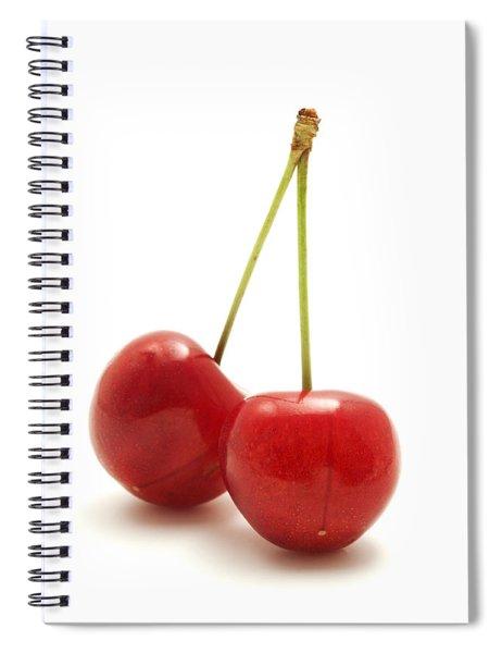 Wild Cherry Spiral Notebook