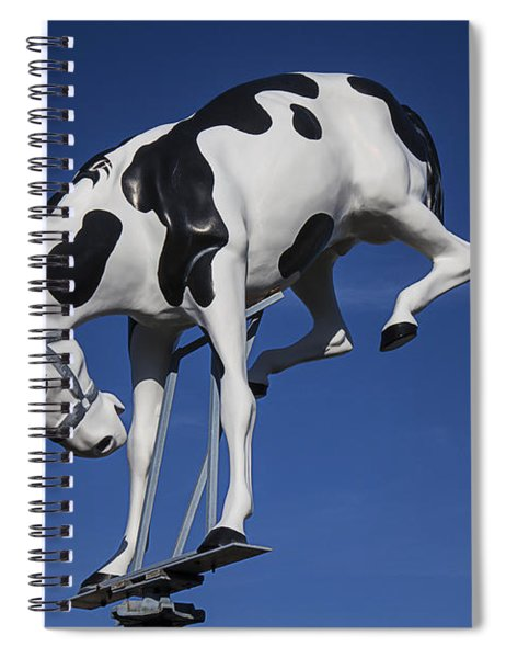 Wild Horse Sign Spiral Notebook