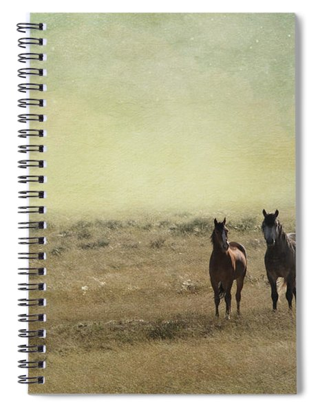 Wild Pair Spiral Notebook