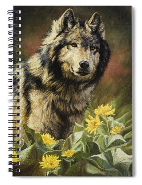 Wild Spirit Spiral Notebook