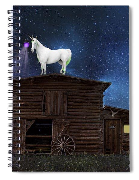 Wild Wild West Spiral Notebook