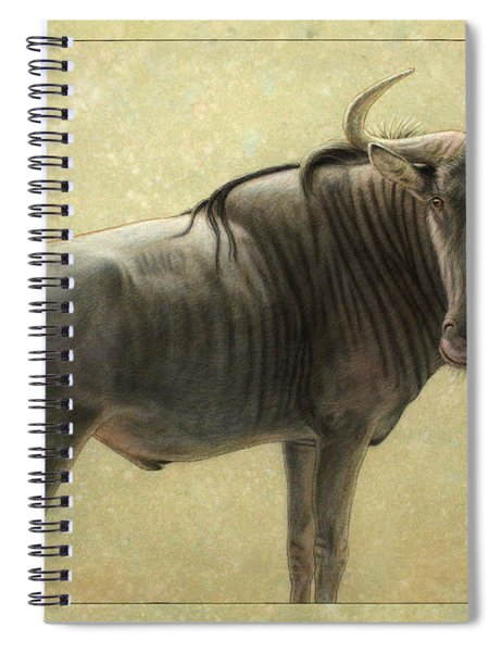 Wildebeest Spiral Notebook