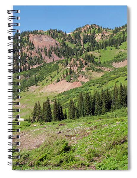 Wilderness Area And Snake River Spiral Notebook