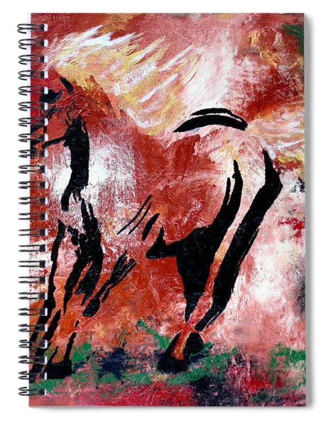 Wildfire Spiral Notebook