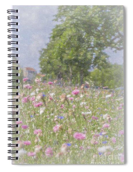 Wildflower Impressionism Spiral Notebook