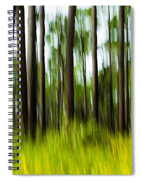 Wildflowers In The Forest Spiral Notebook