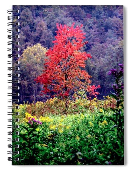 Wildwood Flowers Spiral Notebook