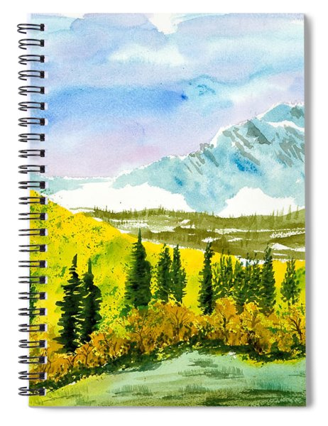 Willard Peak Spiral Notebook