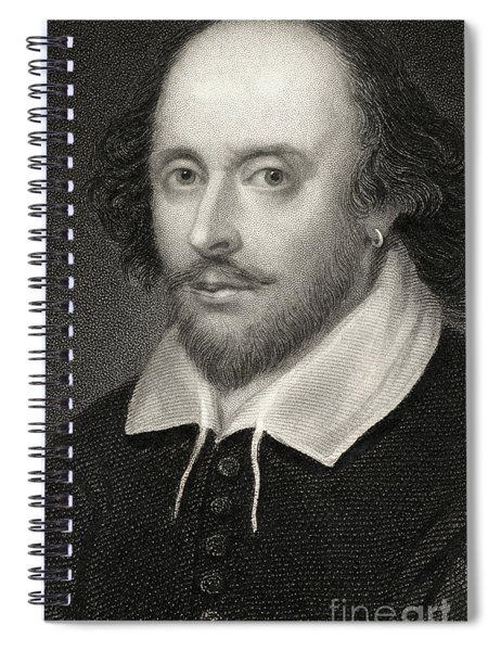William Shakespeare Spiral Notebook