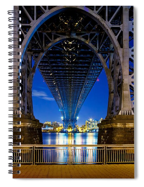 Blue Punch Spiral Notebook