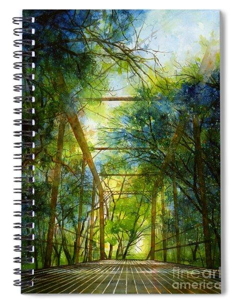 Willow Springs Road Bridge Spiral Notebook
