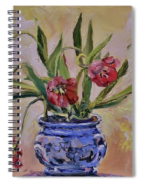 Wilting Tulips Spiral Notebook