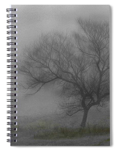 Wind Swept Tree Spiral Notebook