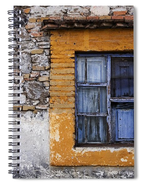Window Detail Mexico Spiral Notebook