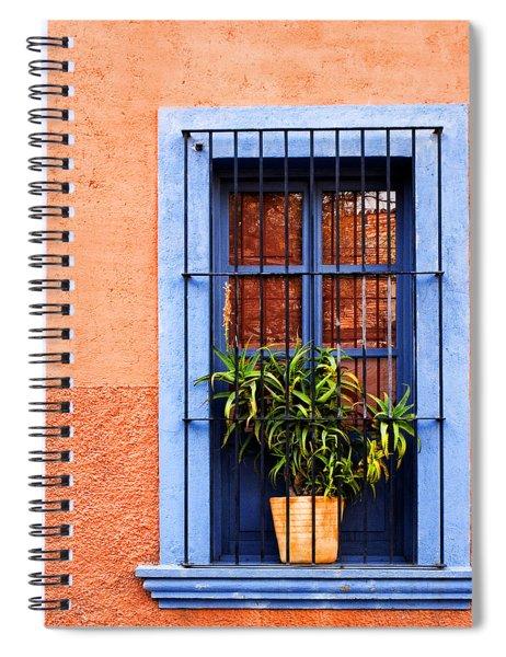 Window In San Miguel De Allende Mexico Square Spiral Notebook
