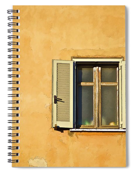 Window Of Rome Spiral Notebook