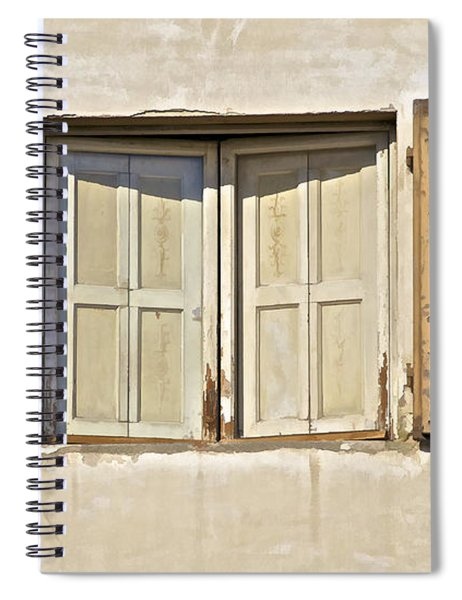 Window Of Tuscany Spiral Notebook