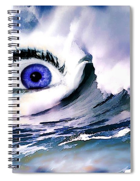 Window Of Your Soul Spiral Notebook