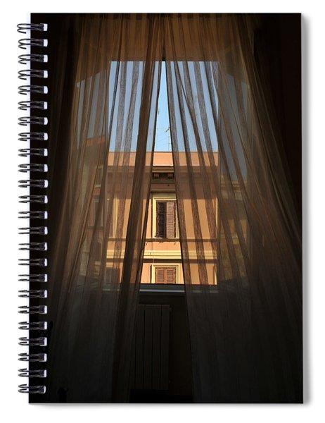 Window On Rome Spiral Notebook