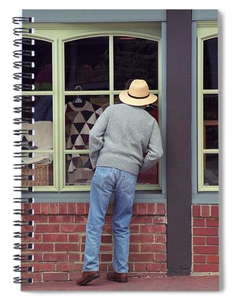 Window Shoppers Spiral Notebook
