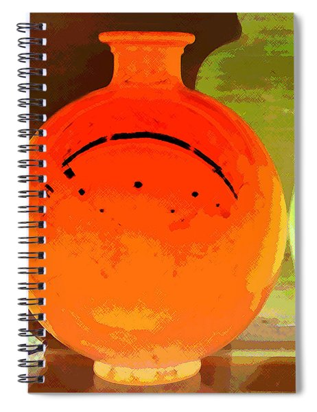 Window Shopping For Glass Spiral Notebook