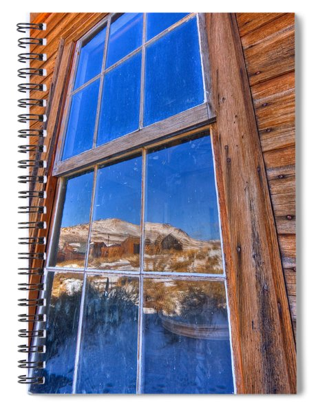 Window To Bodie Spiral Notebook
