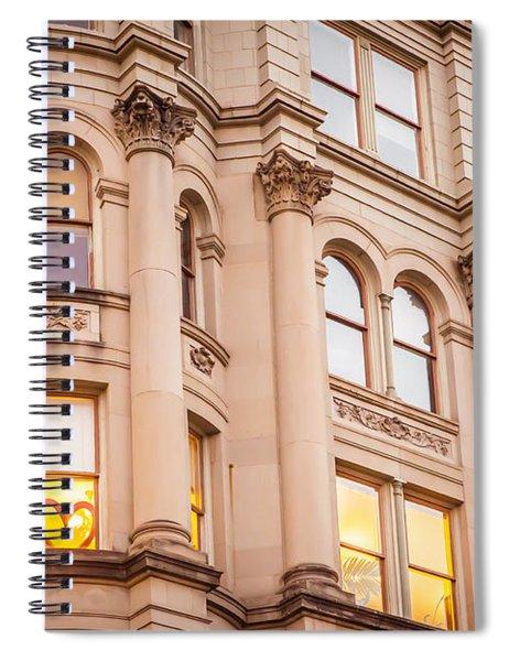 Window To My Heart Spiral Notebook