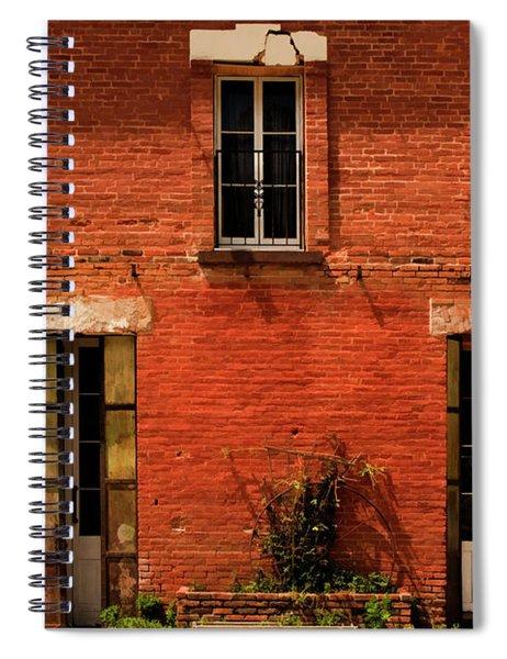 Windows And Doors Spiral Notebook