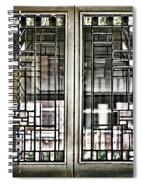 Windows Of A Prairie House  Spiral Notebook