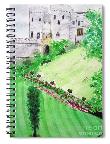 Windsor Castle Spiral Notebook