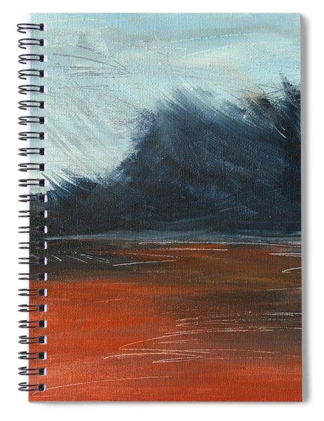 Windy Beach Spiral Notebook