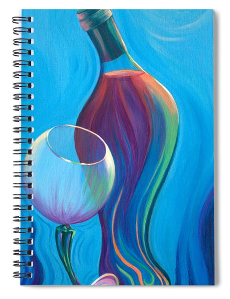 A Wine Affair Spiral Notebook
