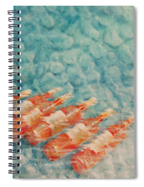 Wine Cooling Spiral Notebook