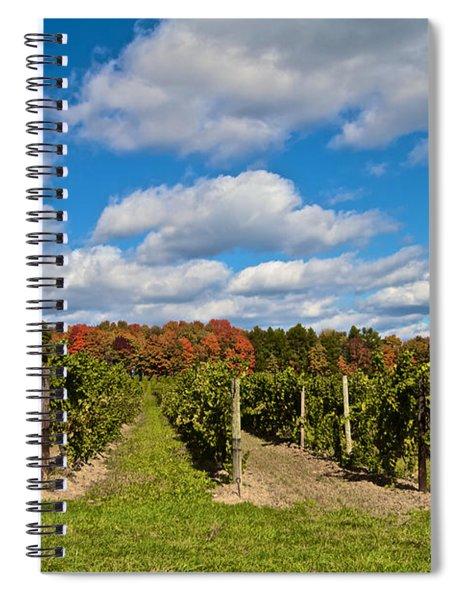Wine In Waiting Spiral Notebook