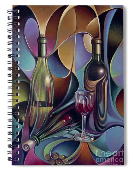 Wine Spirits Spiral Notebook