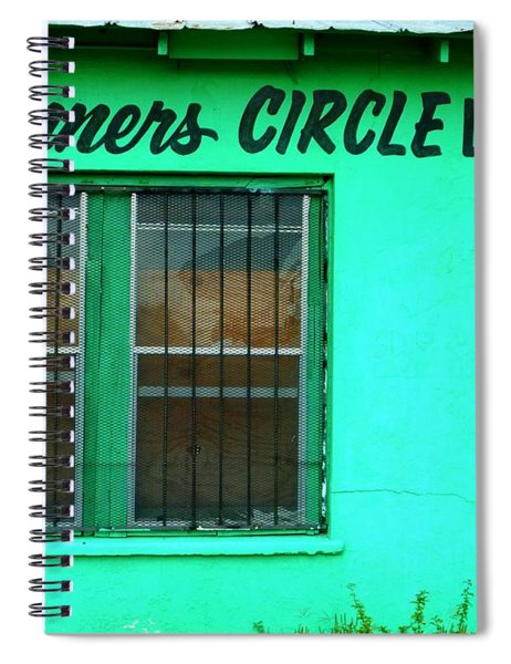 Winner's Circle Lounge Spiral Notebook