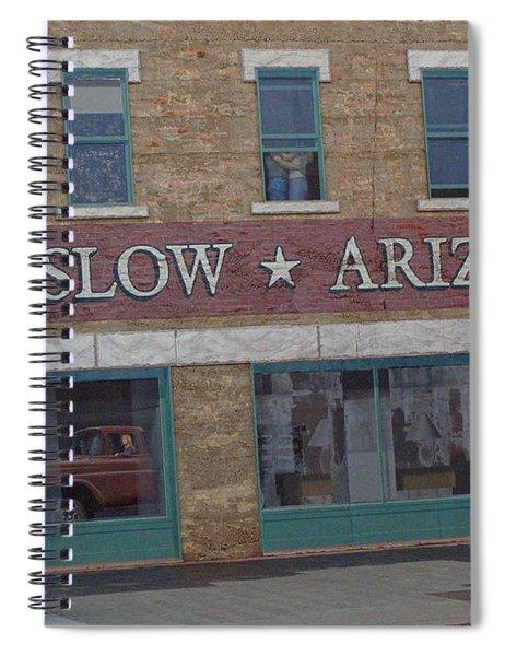 Winslow Arizona Spiral Notebook