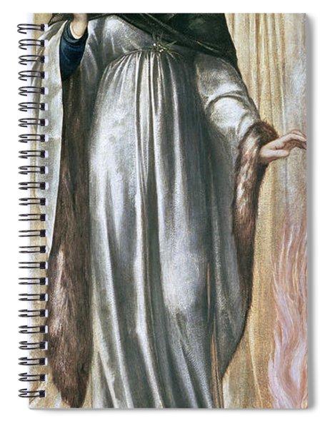 Winter, 1869-70 Gouache On Paper Spiral Notebook