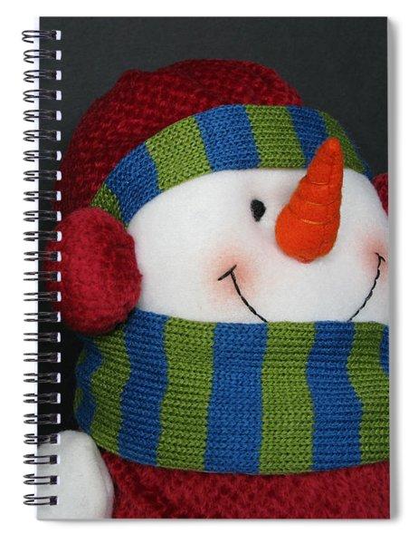 Winter Attire Spiral Notebook