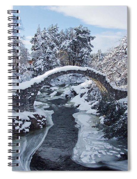 Old Packhorse Bridge - Carrbridge Spiral Notebook