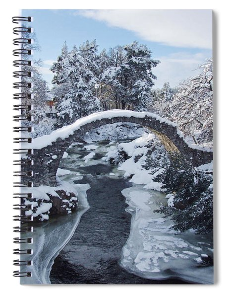 Old Packhorse Bridge - Carrbridge Spiral Notebook