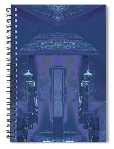Winter Dusk Homecoming Spiral Notebook