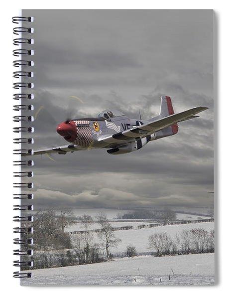 Winter Freedom Spiral Notebook