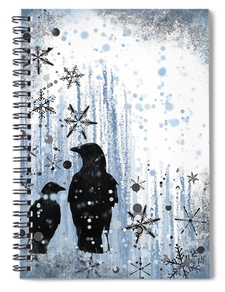 Winter Frolic 2 Spiral Notebook