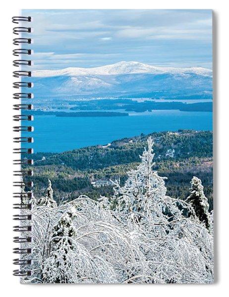 Winter In Nh Spiral Notebook