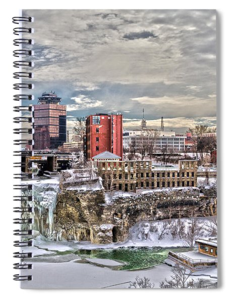 Winter In Rochester Spiral Notebook