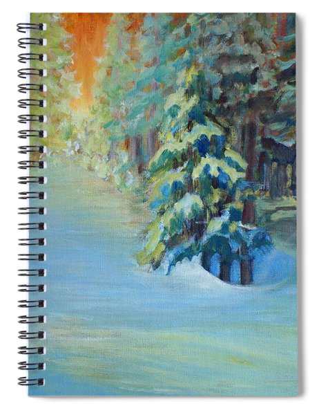 A Road Less Travelled Spiral Notebook