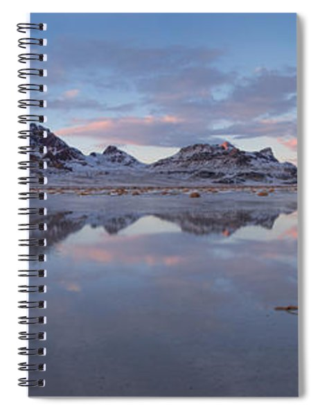 Winter Salt Flats Spiral Notebook