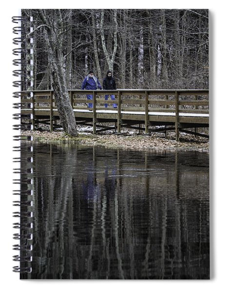 Winter Stroll Spiral Notebook