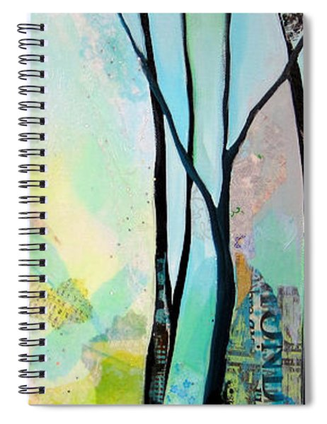 Winter Wanderings I Spiral Notebook